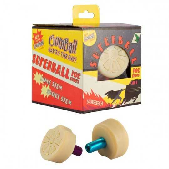 Gumball Superball Toe Stops(Paire)