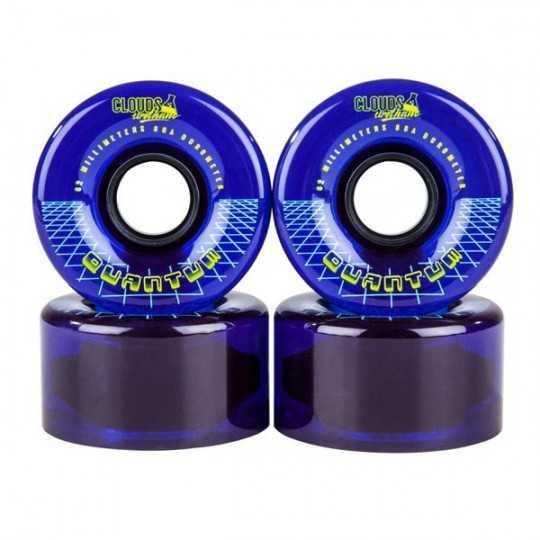 Clouds Urethane Quantum 62 Roller skate Wheels(4Pk)