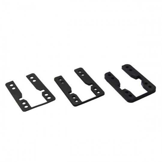 Khiro Shock pads 3mm Drop through (Vendu par paire)