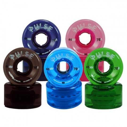Atom Pulse 65 Roues Roller Quad(Par 4)