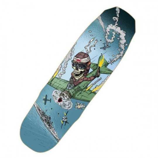 "Cruzade Kamikaze 9.1"" Plateau Skateboard"