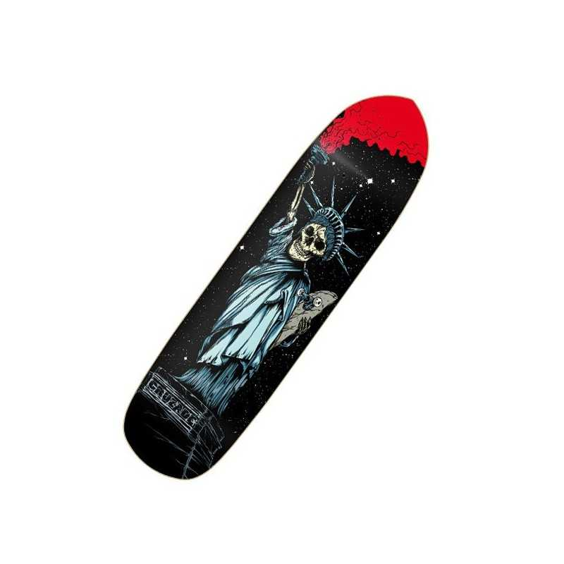 "Cruzade Liberty 8.25"" Skateboard Deck"