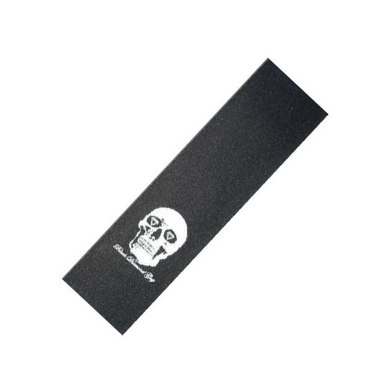 "Black Diamond Skull noir et blanc 9"" (Plaque) Grip skateboard"