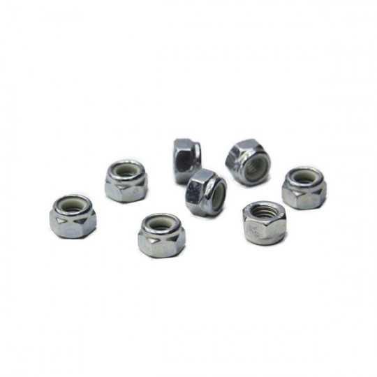 Roll Line 7mm Metric Axle Nuts(8 Pk)