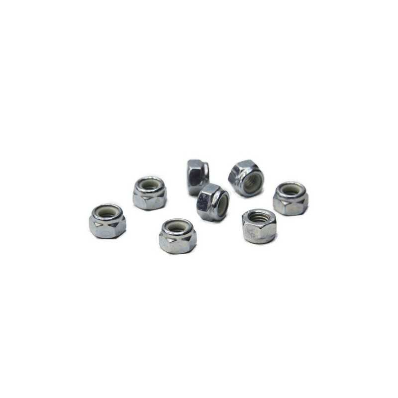 Roll Line 7mm Metric Axle Nuts(8 Pk)