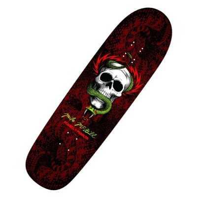 "Powell Peralta McGill Snake Skin Black 8.97"" Plateau Skateboard"