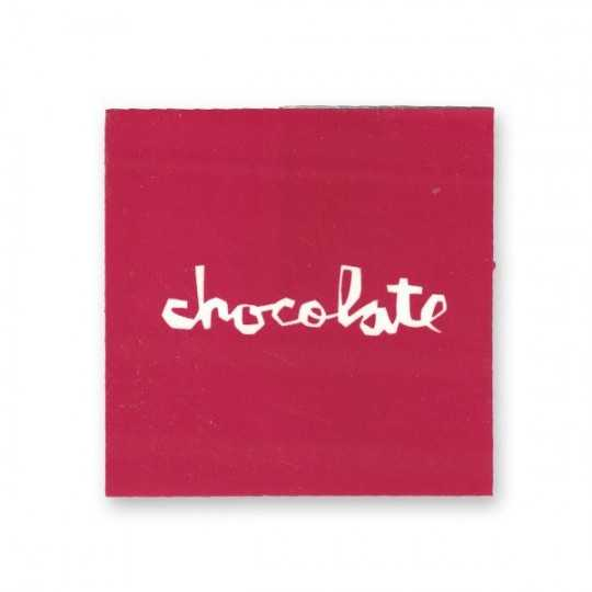 Chocolate Autocollant Logo