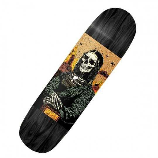 "Jart Mona Lisa 8.625"" Plateau Skateboard"