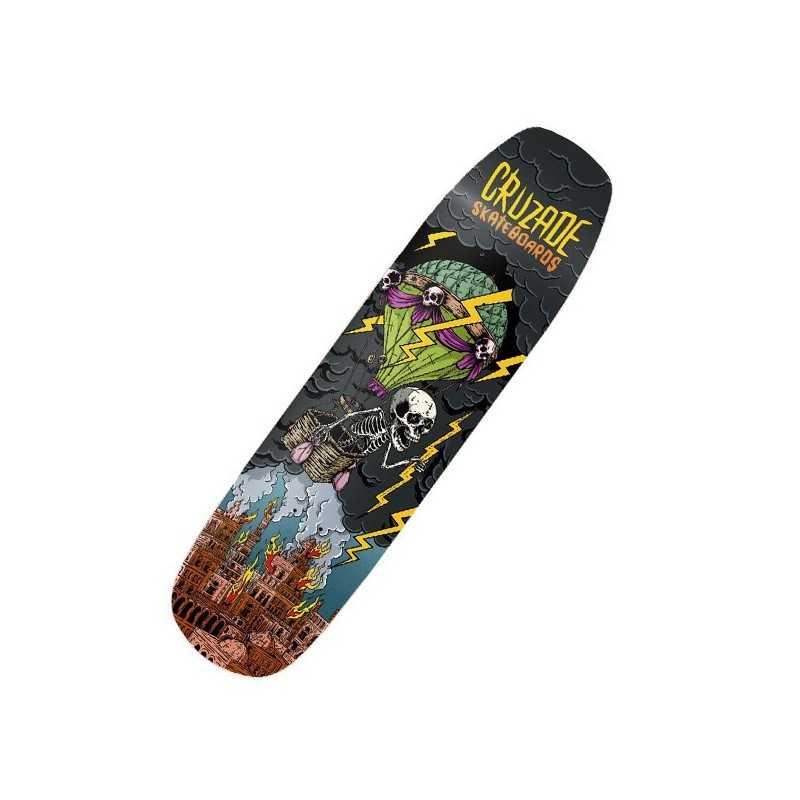 "Cruzade Storm 8.5"" Plateau Skateboard"