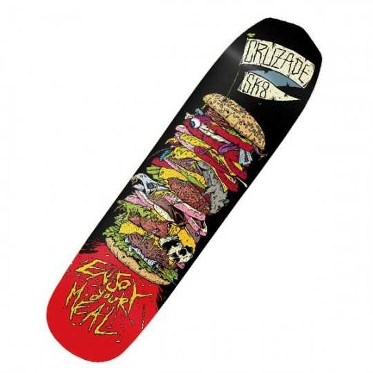 "Cruzade Burguer 8.25"" Plateau Skateboard"