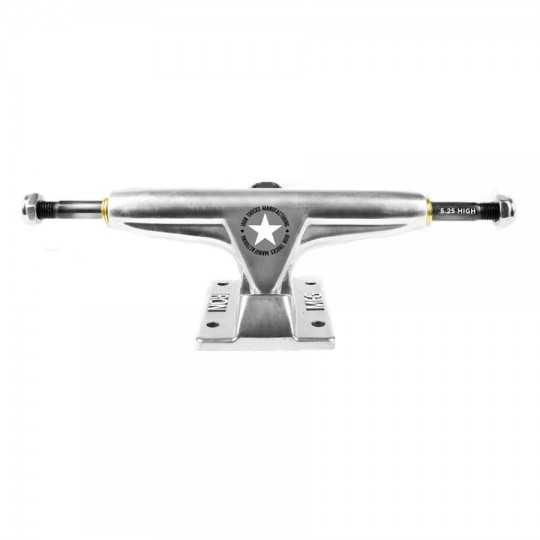 "Iron 5.25"" High Silver Skateboard Truck(Single)"