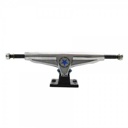 "Iron 6"" High Silver & Black Truck Skateboard(Unité)"