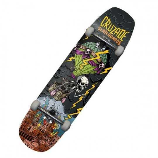 """Cruzade Storm 8.5"""" Skateboard Complet"""