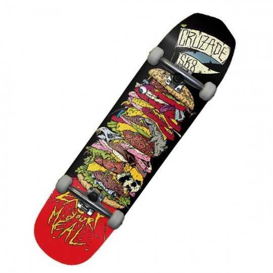 """Cruzade Burguer 8.25"""" Skateboard Complet"""