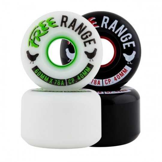 Free Wheel Range 60mm Roues longboard