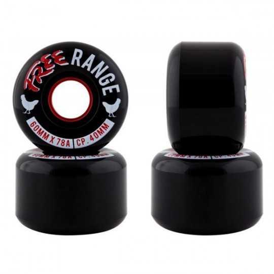 Free Wheel Range 60mm Longboard wheels