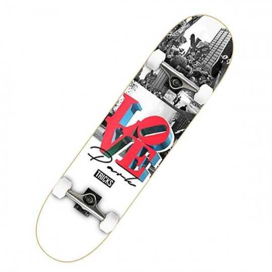 "Tricks Love 7.87"" Complete Skateboard"