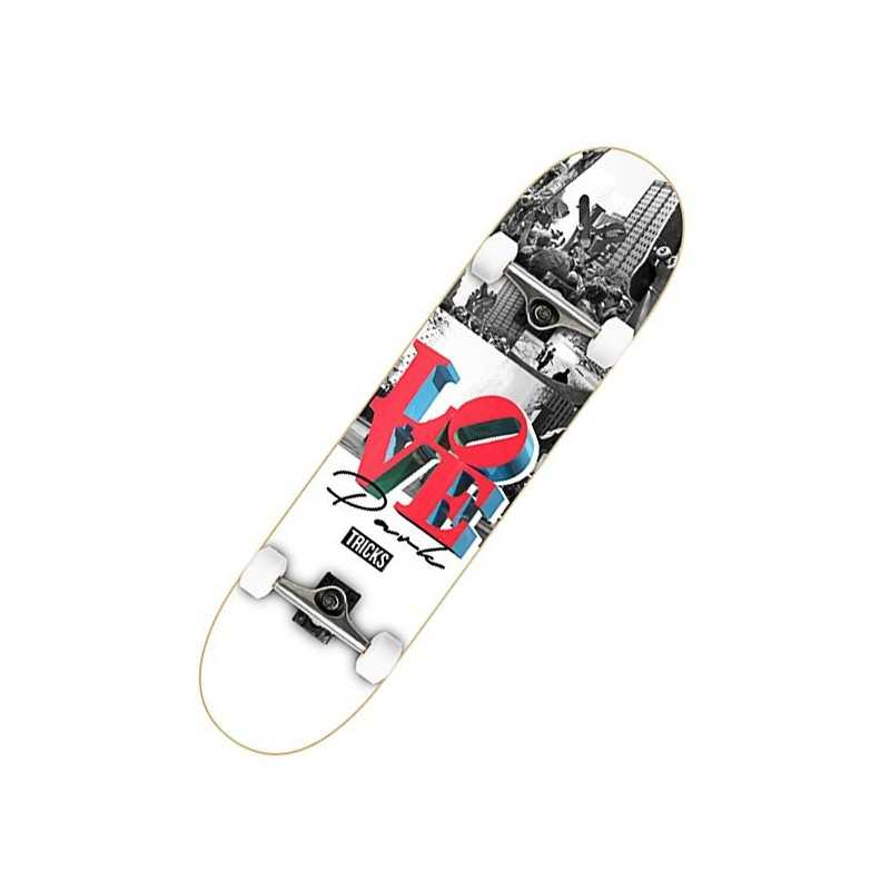 "Tricks Love 7.87"" Skateboard Complet"