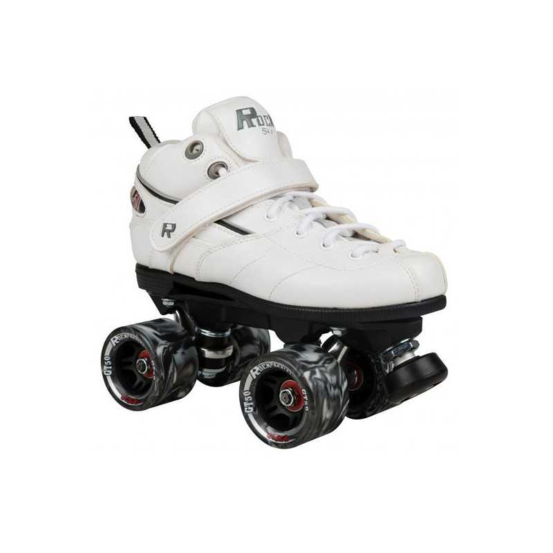 Sure-Grip GT-50 Indoor White Roller Derby Skates
