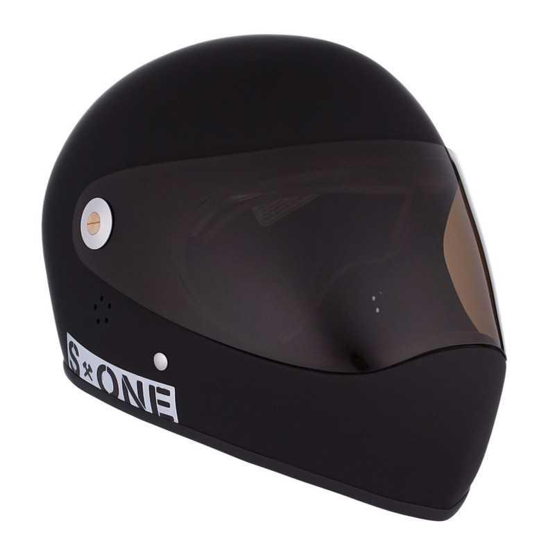 S-One Lifer Fullface Noir Mat Casque Longboard(Coque)