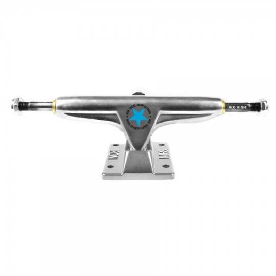 "Iron 6"" High Silver Truck Skateboard(Unité)"