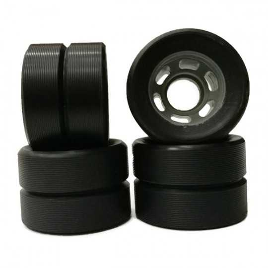 Rookie 62x42mm Derby Trainning Wheels(4 Pk)