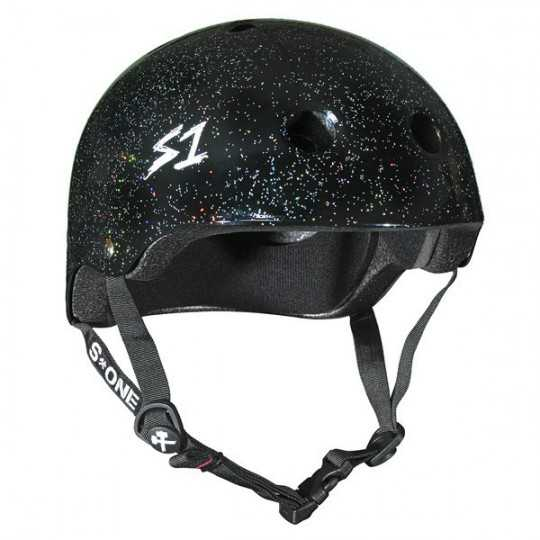 S-One V2 Lifer Black Glitter Helmet