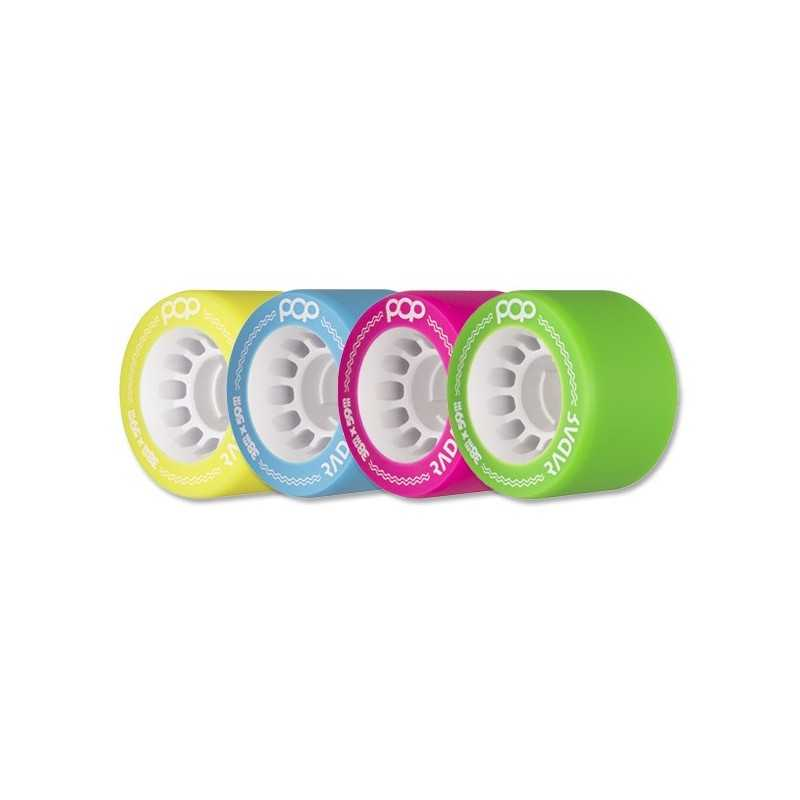 Radar Pop 59x38 Roller Derby Wheels(4 Pk)