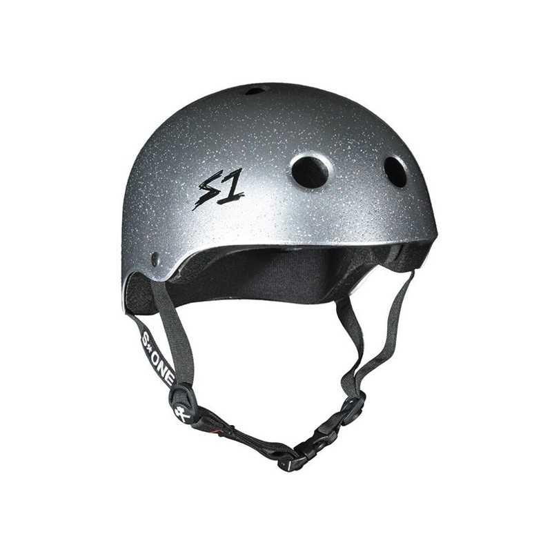 S-One V2 Lifer Silver Glitter Helmet