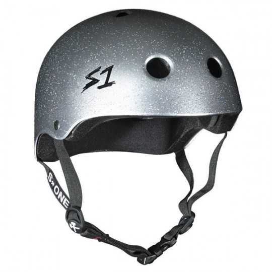 S-One V2 Lifer Silver Glitter Helmet