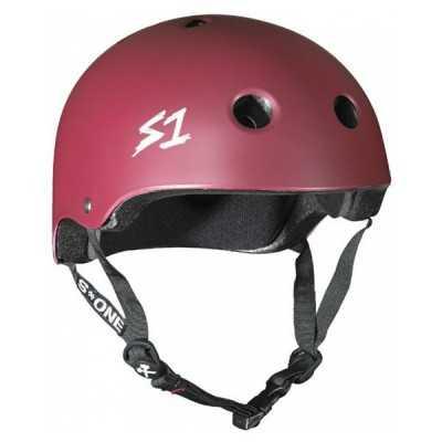S-One V2 Lifer Maroon Helmet