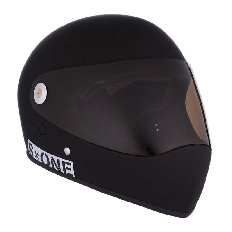 S-One Lifer Fullface Noir Mat Casque Longboard