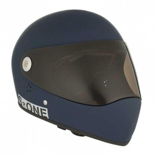 S-One Lifer Fullface Navy Matte Longboard helmet