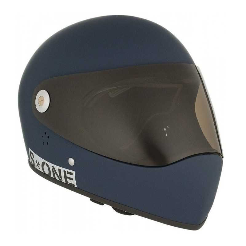 S-One Lifer Fullface Navy Mat Casque Longboard