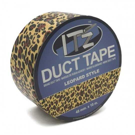 Duct Tape Motif Léopard