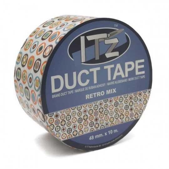 Duct Tape Motif Retro Mix