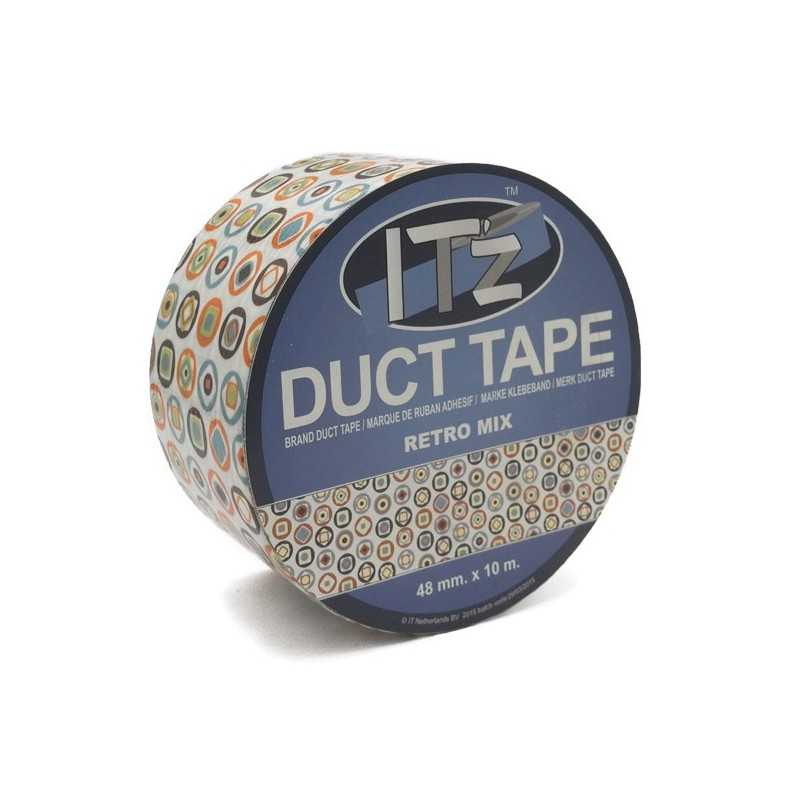 Duct Tape Motif Retro Mix