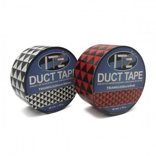 Duct Tape Motif Triangle