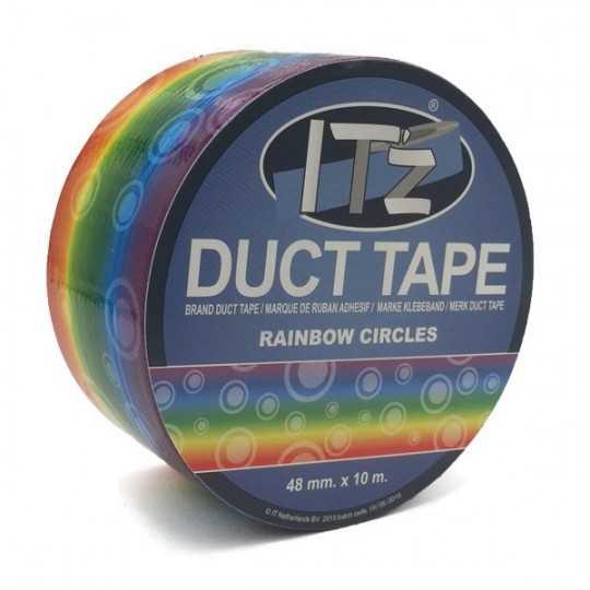Duct Tape Motif Arc-en-Ciel