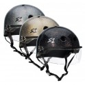 S-One Lifer Paillettes With Visor Casque Roller Derby(Coque)