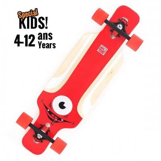 Solid Kid Eye Longboard complet