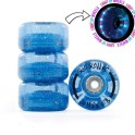 Rio Light Up 54mm Roues Roller Quad(Par 4)