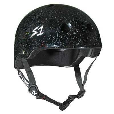 S-One V2 Lifer Black Glitter Helmet