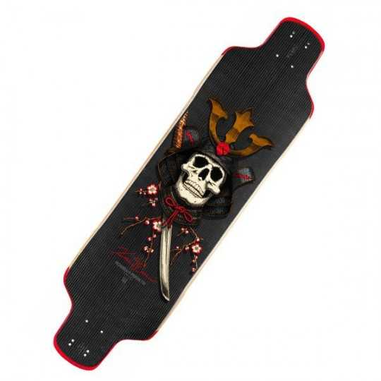 Powell Peralta Kevin Reimer Samourai Carbon Longboard Deck
