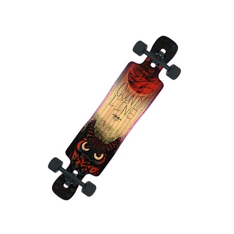 Moonshine Country Line Soft Longboard Complet
