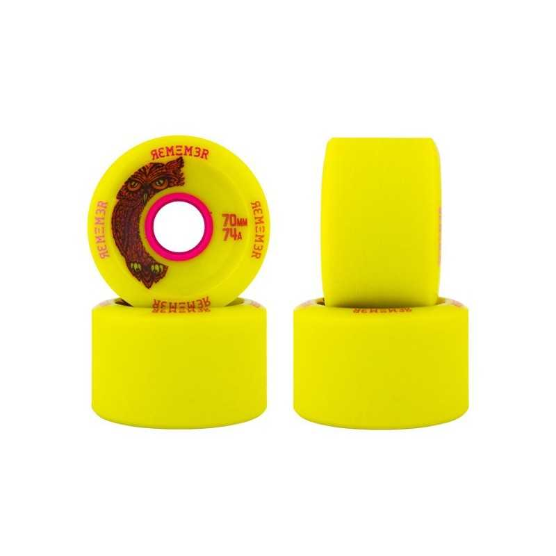 Remember Hoots 70mm Roues Longboard