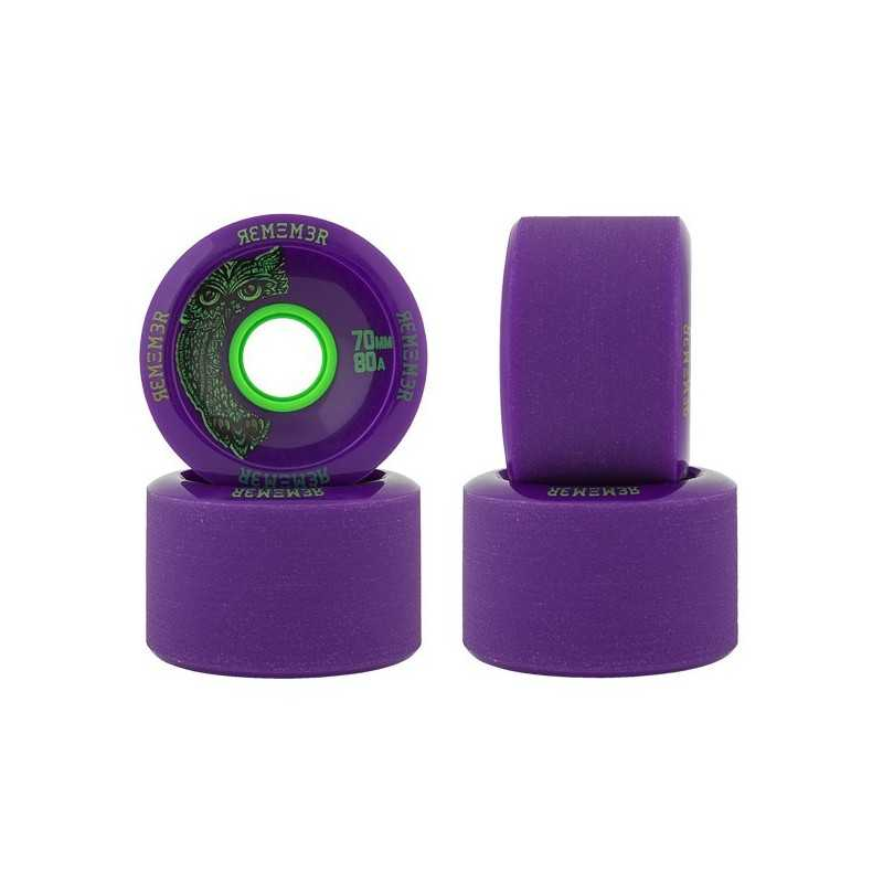 Remember Hoots 70mm Longboard Wheels