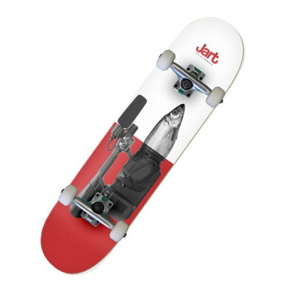 "Jart Mixed Fish Eye 7.87"" Skateboard Complet"