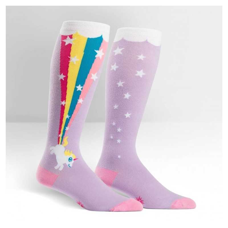 "Sock It To Me ""Rainbow Blast"" Chaussettes Mi-bas Stretch-It"