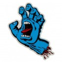 "Santa Cruz Screaming Hand 6"" Sticker"